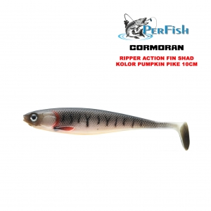 Guma Action Fin Shad Pumpkin Pike 10 cm 51-86102